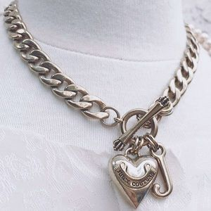Juicy Couture Choker Chain